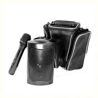 Amplificatore portatile con microfono